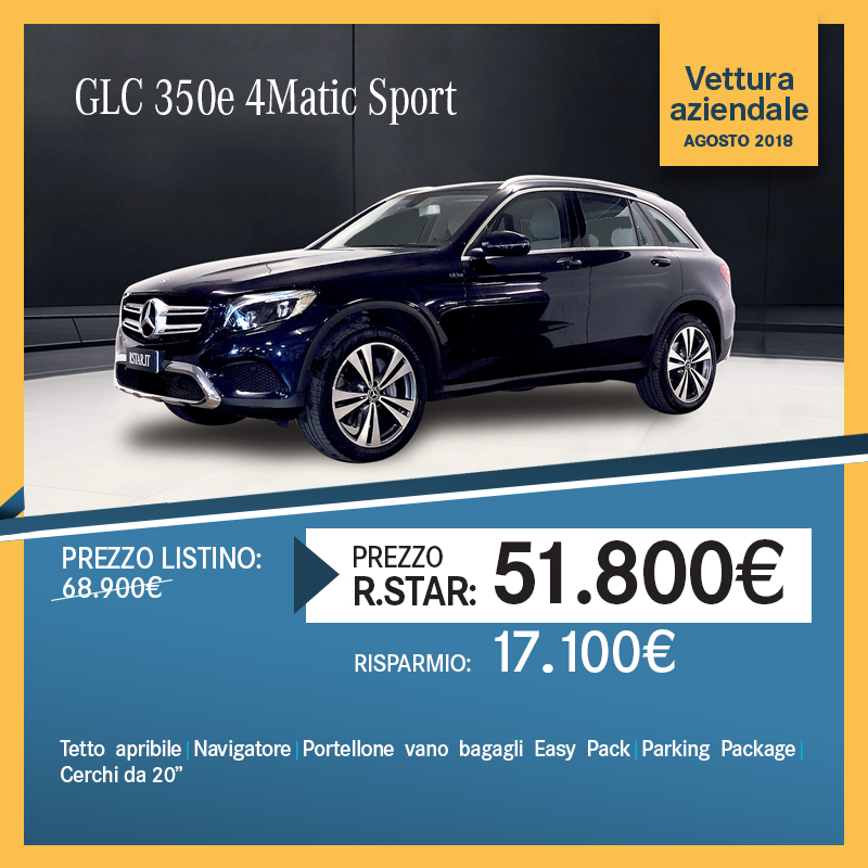 Mercedes-Benz GLC 350e 4Matic Sport